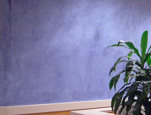 Роспись стен панно из декоративной