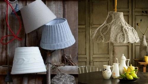 Чехлы вязаные для ламп