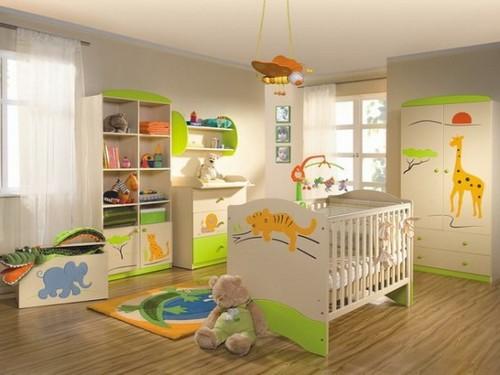 Африканские мотивы - наклейки на мебель в детской