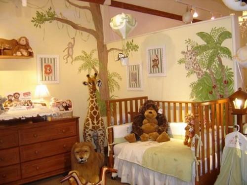 Детская комната джунгли