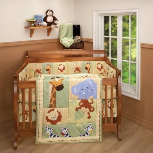 Детское постельное белье с африканскими рисунками