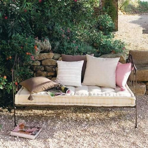 Банкетка садовая