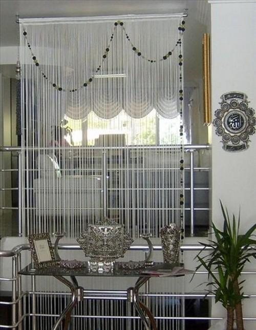 шторы нитяные фото