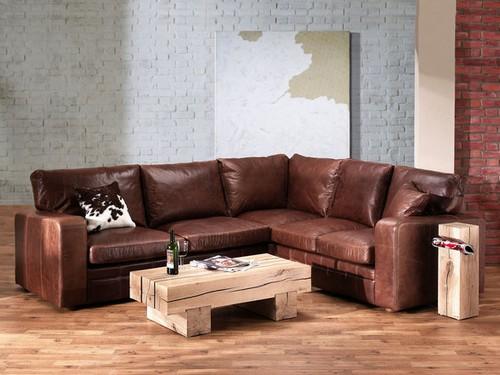 кожаная мебель диван угловой