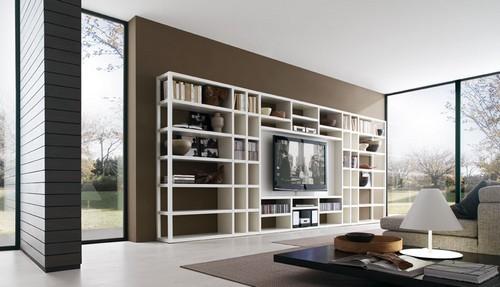 Современные мебельные стенки для гостиных