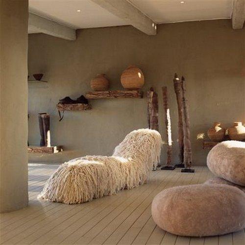 Дизайн интерьера в стиле сафари фото