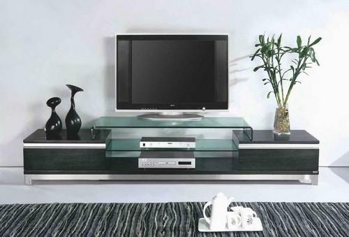 Стеклянная тумба под телевизор