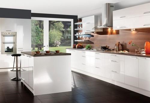 Фасады для кухни из пластика