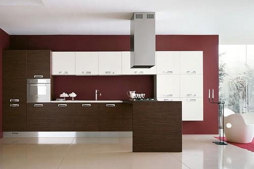 Кухонные фасады из МДФ крашенные