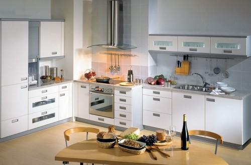 Современные кухни с фасадами из ДСП