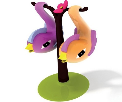 Парные птицы - наборы солонок и перечниц