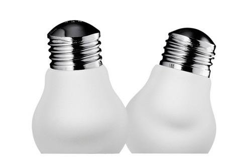 Креативные солонки и перечницы в виде лампочек
