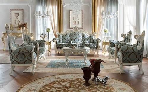 Интерьер квартиры в стиле барокко