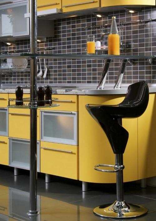 Барные стулья для кухни хай-тек