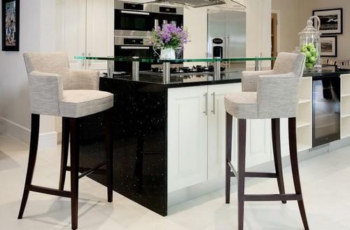 Барные стулья для кухни мягкие