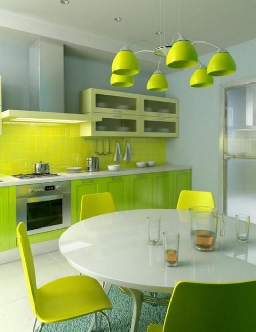 Дизайн фартука для кухни
