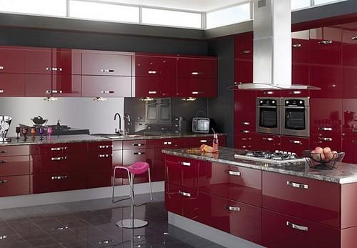 Кухонный фартук зеркальный