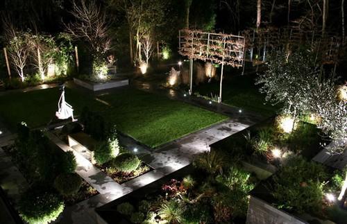 Ландшафтное освещение - садовые фонари