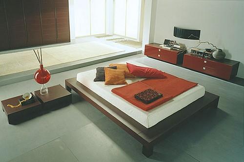 Мебель для спальни японский стиль