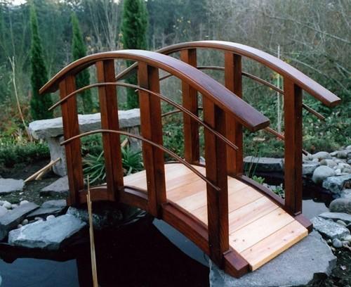 Декоративные ландшафтные мостики