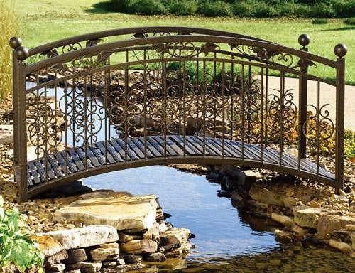 Металлические мостики для дачи