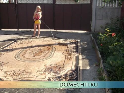 Стирка ковров в домашних условиях фото