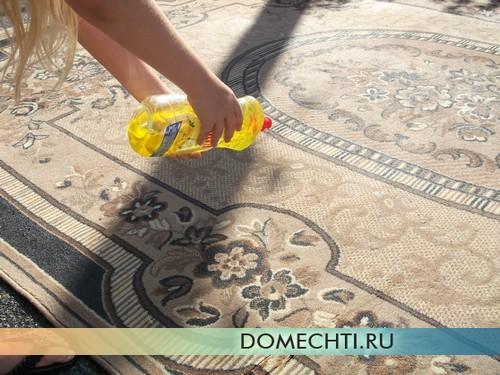 Средство для стирки ковров фото