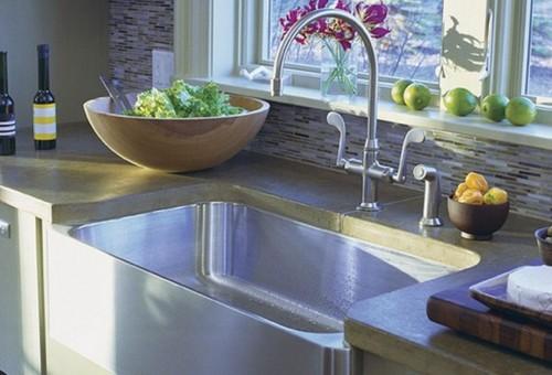 Смесители для кухни с отдельным душем в мойке