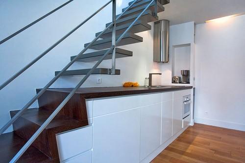 Интерьер двухэтажной квартиры фото