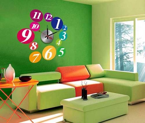 Уют в съемной квартире - наклейки на стену
