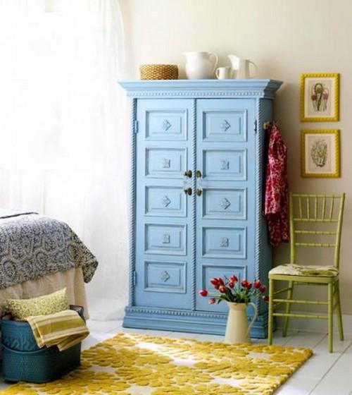 Украшаем мебель для съемной квартиры
