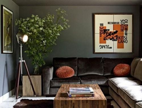 Комнатные деревья в дизайне интерьера