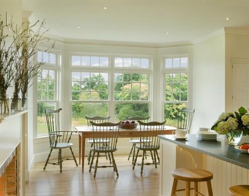 Дизайн кухни с эркером фото Дом Мечты