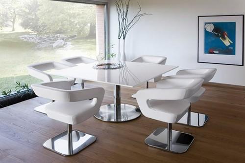 Обеденные столы и стулья с подлокотниками