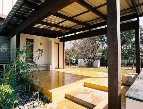 Terrasse bois bambou prix leroy merlin, terrasse bois plot agricole m2