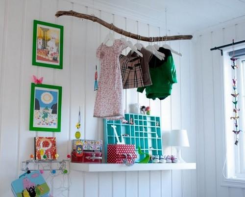 Длинная узкая детская дизайн