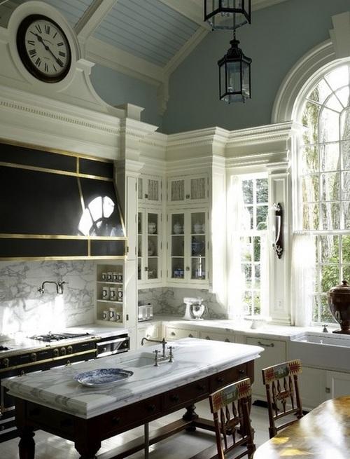 Часы на кухню фото