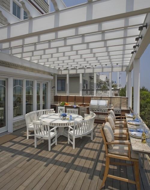 Мебель для летней террасы из дерева