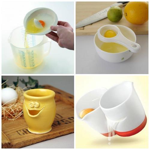 Сепараторы для яиц - удобные кухонные гаджеты