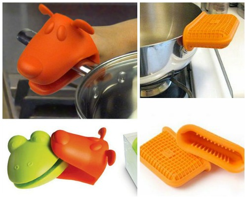 Оригинальные кухонные гаджеты - прихватки для горячего