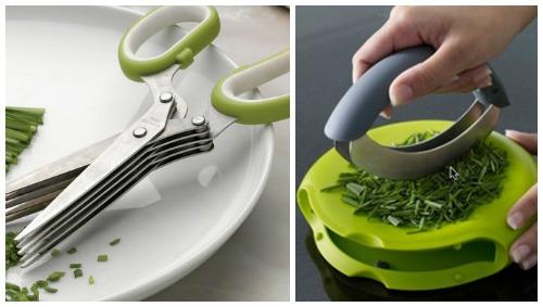 Гаджет для кухни - измельчитель зелени