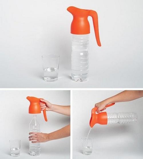 Ручка-лейка для бутылок