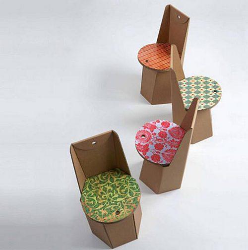 Дом мебель из картона своими руками