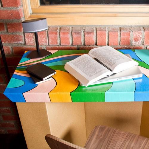 Дизайнерская картонная мебель от SmartDeco