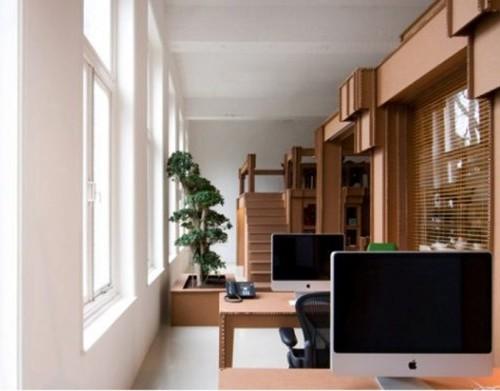 Мебель из картона для офиса
