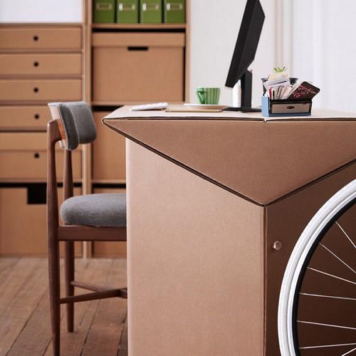 Мебель из картона для кабинета