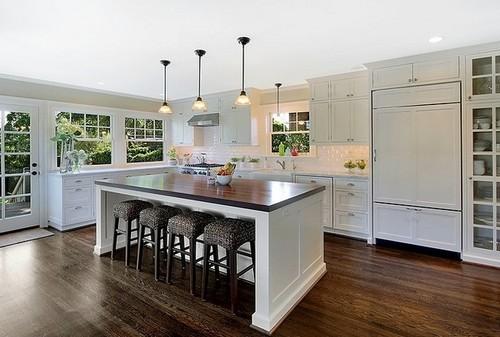Кухонные мягкие табуретки