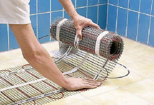 Электроотопление дома и квартиры - теплый пол