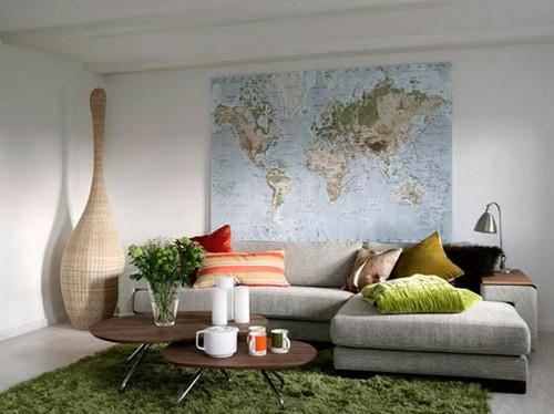 Географические карты в