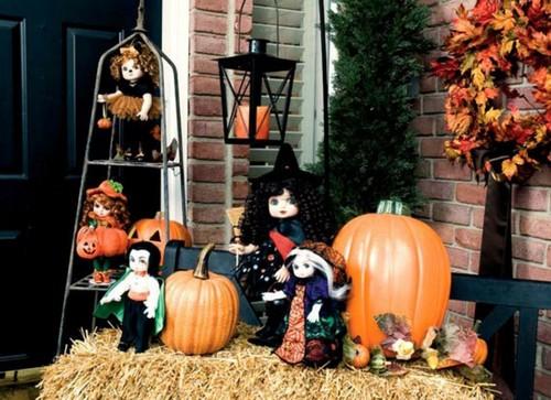 Как можно украсить дом на Хэллоуин